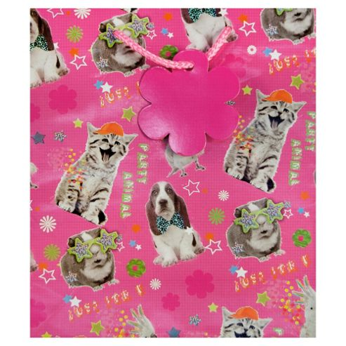 Funky Animal Bright bag - med