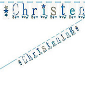 Boy Christening Banner (2.13m)