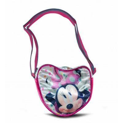 Minnie Mouse Satin 'Heart Shaped' Shoulder Bag