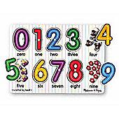 See-Inside Numbers Peg Puzzle - Melissa & Doug