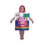 Peppa Pig Hooray Hooded Towel Poncho