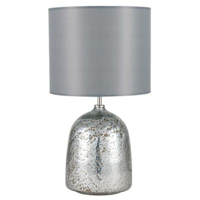 Mercurial Effect Dome Glass Table Lamp Complete