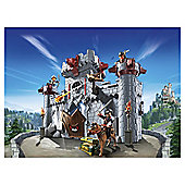 Playmobil Super 4 6697 Take Along Black Baron'S Castle