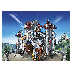 Playmobil 6697 Super 4 Take Along Black Baron's Castle Set