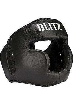 Blitz - Pro Boxing Full Face Head Guard - Black
