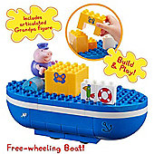 Peppa Pig Construction Set Grandpa Pig's Boat