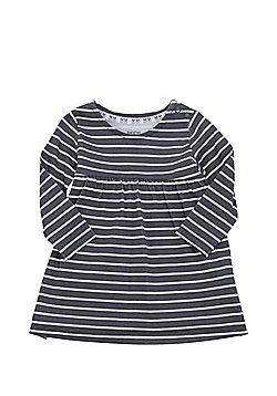F&F Striped Dress - Grey