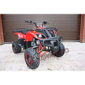 Hawkmoto Tomahawk 150cc CVT Quad Bike Red