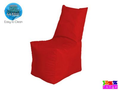 Happy Beds Bonkers Jazz Throne Bean Bag Chair Red