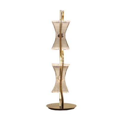 Kromo Table 2 Light Antique Brass