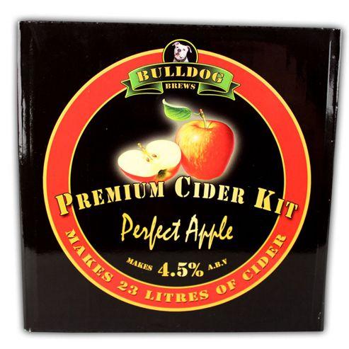 Bulldog 'Perfect Apple' (ABV 4.5%) 40 Pint Apple Cider Kit