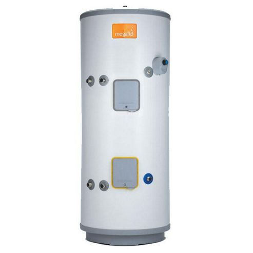 Heatrae Sadia Megaflo Eco 210SI Unvented Indirect Stainless Steel Solar Hot Water Cylinder 210 Litres