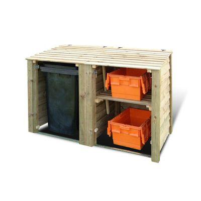 Morcott double combo bin storage unit