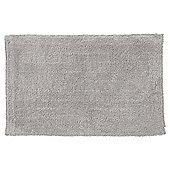 Hygro Cotton Black Reversible Bath Mat