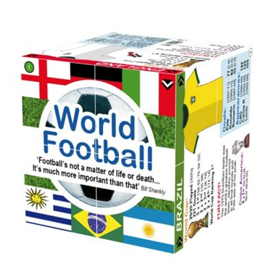 ZooBooKoo World Football Top Teams and Statistics Cubebook - Fold-Out Cube