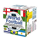 ZooBooKoo Educational World Football Top Teams and Statistics Cube Book