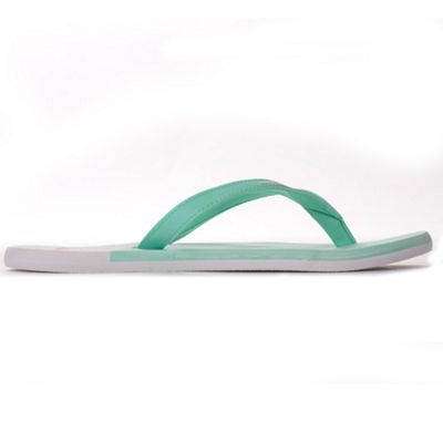 adidas Eezay Ice Cream Womens Thong Sandal Flip Flop Green/White - UK 7