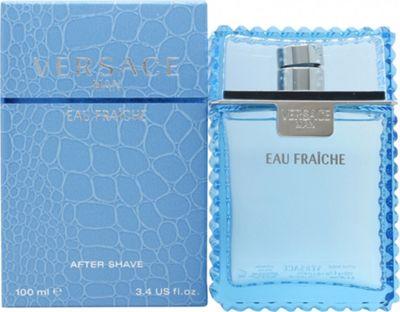 Versace Man Eau Fraiche Aftershave Lotion 100ml Splash For Men