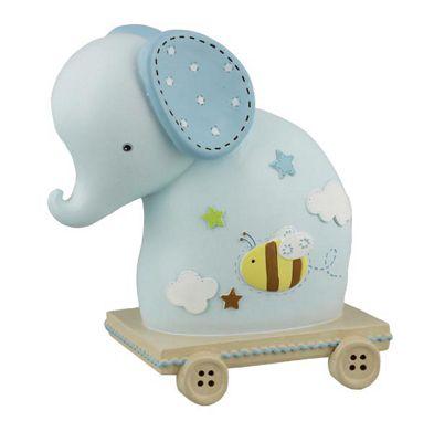 Children's Money Box - Blue Elephant, Money Boxes for Children, Children's Gifts, Christening Gifts