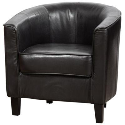 Sofa Collection Villemont Tub Chair - Black