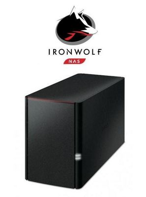 Buffalo LinkStation 220D/6TB-IW 2-Bay 6TB(2x3TB Seagate IronWolf) Network Attached Storage