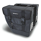 Basil Tour Rear Briefcase Double Pannier Bag Heavy Duty Black 26L