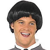 Smiffy's - 60's Bowl Wig - Black