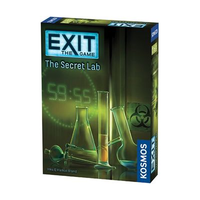 Exit: The Secret Lab Board Game