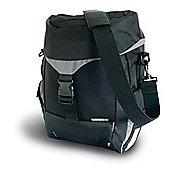Basil Sports Single Bag Water Repellent Black 19L