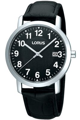Lorus Gents Leather Strap Watch RH951CX9
