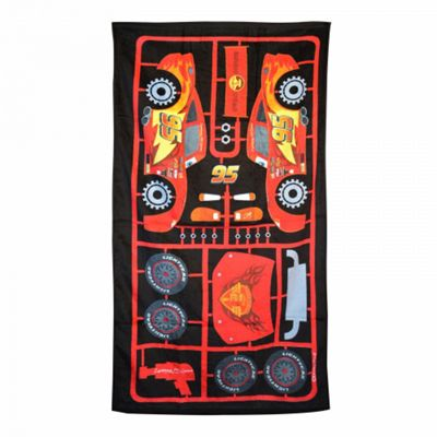 Disney Cars 'Lightning Mcqueen 95' Printed Beach Towel