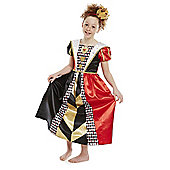 Disney Alice in Wonderland Queen of Hearts Dress-Up Costume - Black & Red
