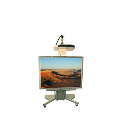 Loxit Hi-Lo 500 Whiteboard TV Trolley with Electric Lift