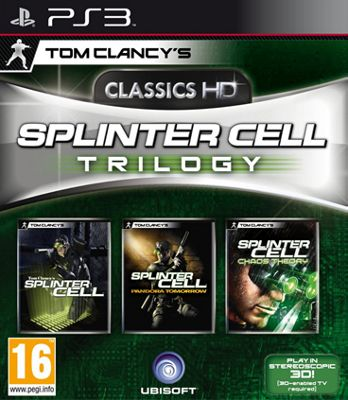 Splinter Cell Trilogy Hd Platnum
