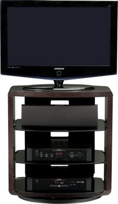 BDI Espresso Stained Oak TV Unit For Up To 37 inch TVs