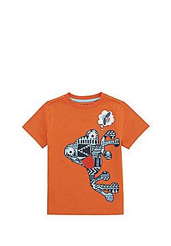 F&F Googly Eyed Frog T-Shirt - Orange