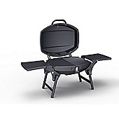 IQ Portable Gas BBQ Grill with Free Accessory Pack Worth £45 Includes BBQ Cover and Utensil Set
