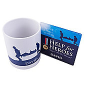 Help for Heroes Personalised Character Mug and Coaster Set