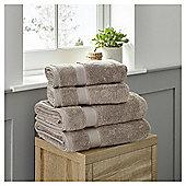 Fox & Ivy 4 Piece Egyptian Cotton Mink Towel Bale