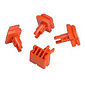 Black + Decker X40400 Vice Pegs (4) for Workmate