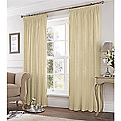 Fusion Eastbourne Pencil Pleat Curtains - Cream