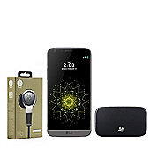 "LG G5 SE H840 Unlocked 5.3"" Smartphone QHD Display Octa Core 3GB 32GB - Grey with B&O H3 Headphone & B&O Hi-Fi Speaker"