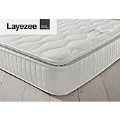 Layezee by Silentnight 800 Pocket Pillow Top Mattress