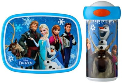 Rosti Mepal Kids Childs Lunch Box and Drinks Bottle, Disney's Frozen 10754/40065