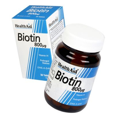 HealthAid Biotin 30 Tablets 800g