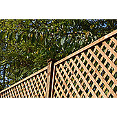 Square Highgrove Wooden Trellis, 4 pack, 60cm
