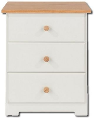 Core Products Colorado CL510 3 Drawer Bedside Cabinet