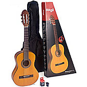 Stagg 3/4 Size Classical Guitar Package - Natural