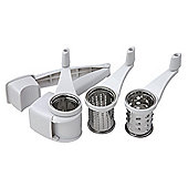 Faringdon Rotary grater set (includes 3 graters) s/s, plastic