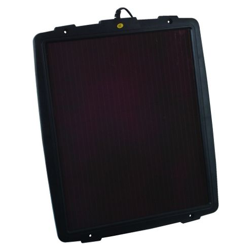Solar-Powered 12V 4.8W Battery Charger